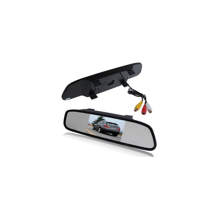 Rearview mirror display car parking HD