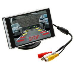 Espelho retrovisor com tela de estacionamento HD