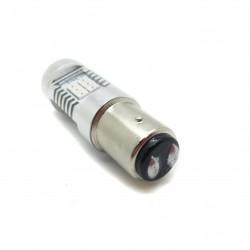 Bulbo claro do diodo EMISSOR de luz P21/5W Vermelha Canbus (Duplo Polo) - TIPO 78