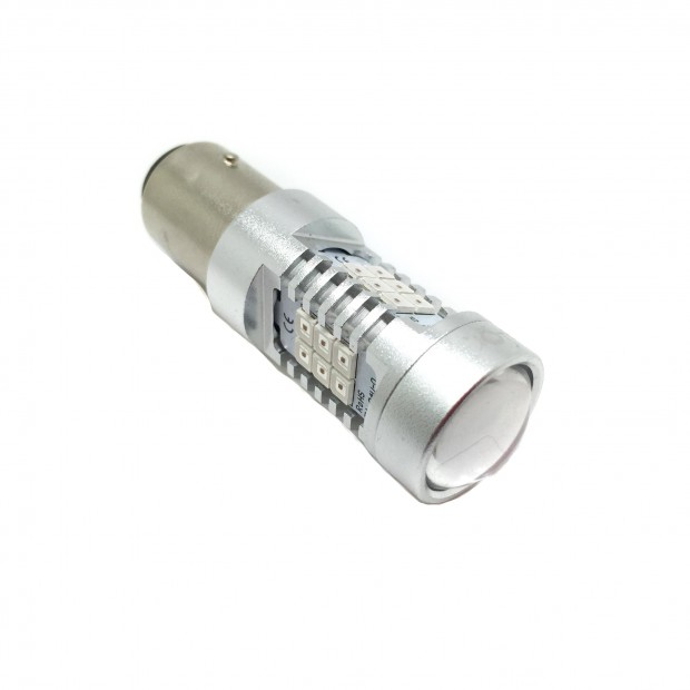 Lampadina LED P21/5W Rosso Canbus (Dual-Polo) - TIPO 78