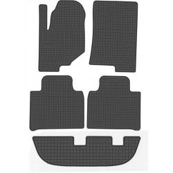 Floor mats, rubber Ssangyong Rexton 3rd row (2017-present)