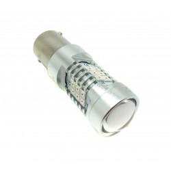 Bombilla LED P21W Roja Canbus - TIPO 76