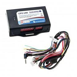 Interface pour les mains du volant BMW, Mini, Mercedes et le bus can et le connecteur connecteur fakra entrée