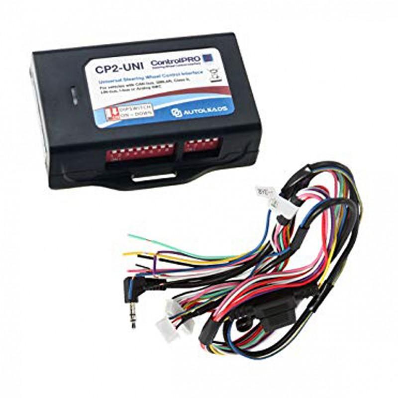 Interface pour les mains du volant, Opel résistive et connecteur ISO
