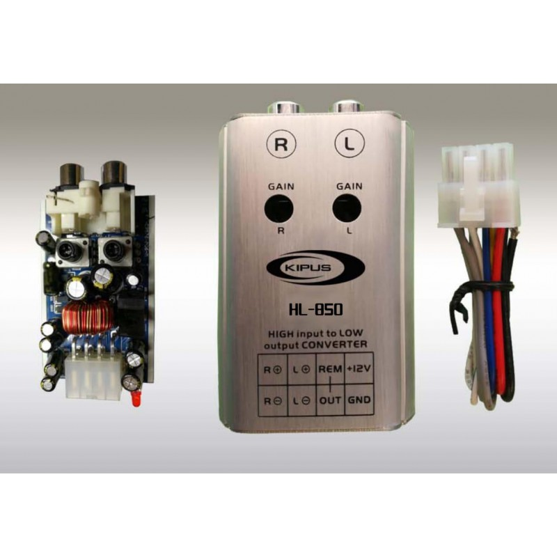 Converter high-to-low-2-channel - Corvy