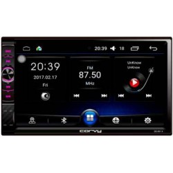 "Radio doppel Din mit touchscreen 7"", Android 6.0 - Corvy"