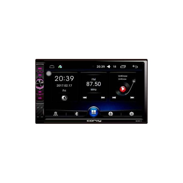 """Radio doppel Din mit touchscreen 7"""", Android 6.0 - Corvy"""