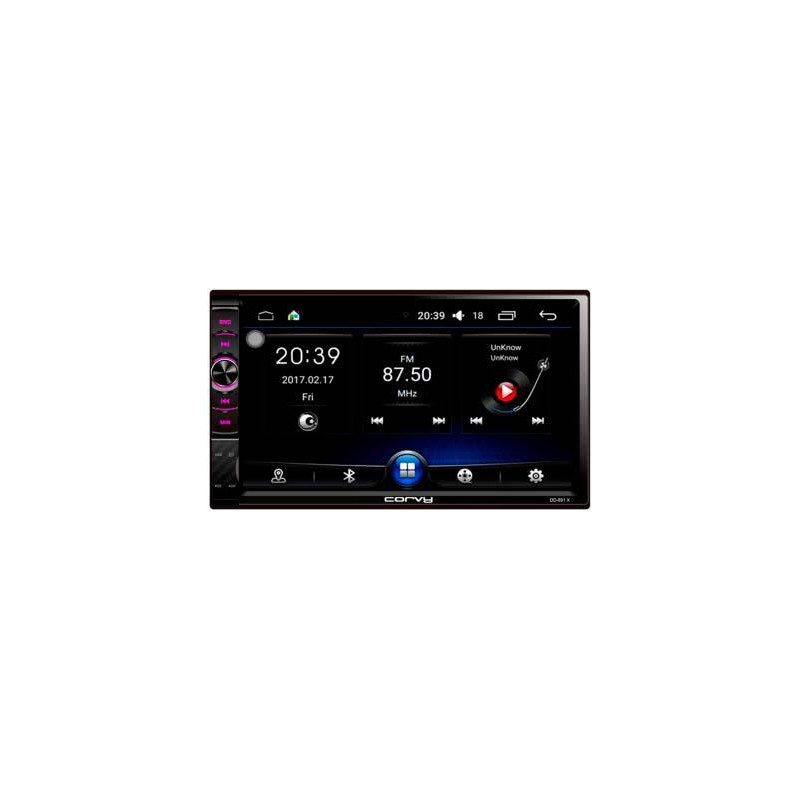 """Radio double Din touch screen 7"""", Android 6.0 - Corvy"""