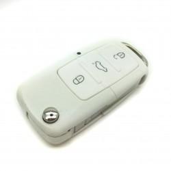 Gehäuse schlüssel Volkswagen Weiß 3 tasten (1997-2009)