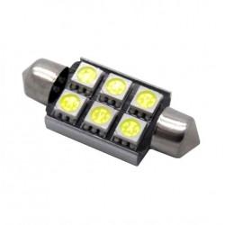 Bulbo claro do diodo EMISSOR de luz c5w / festoon Canbus 41mm - TIPO 80