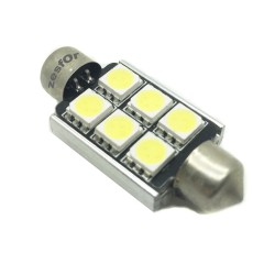 Bulbo claro do diodo EMISSOR de luz c5w / festoon Canbus 41mm - TIPO 80