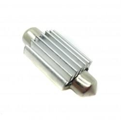 Bulbo claro do diodo EMISSOR de luz c5w canbus 41 mm