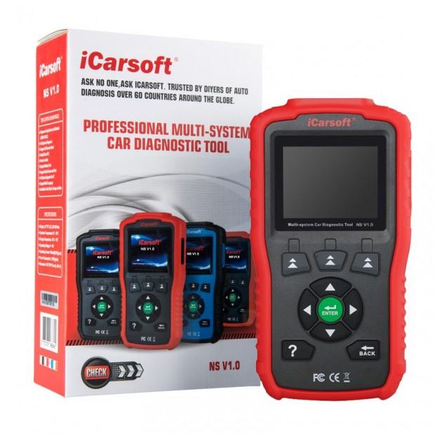 Máquina de diagnóstico Nissan Infiniti e Subaru ICARSOFT NS V1.0 versão 2020/2021