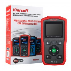Machine diagnosis Mitsubishi & Mazda ICARSOFT i909