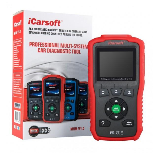 Machine diagnosis Mitsubishi & Mazda ICARSOFT i909