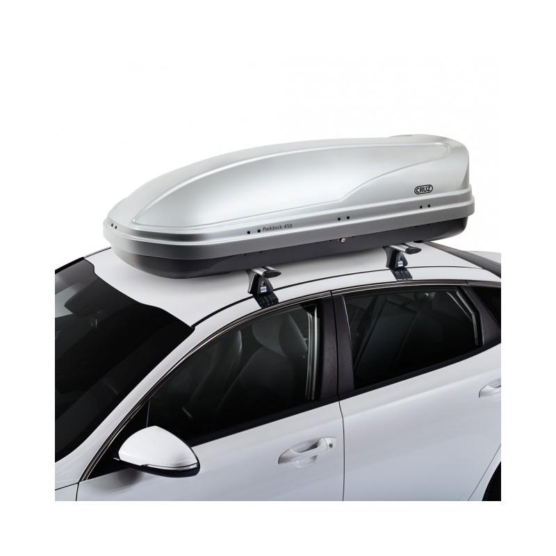 Bagageiro de teto Cruz Paddock 450 litros - esportivo e elegante