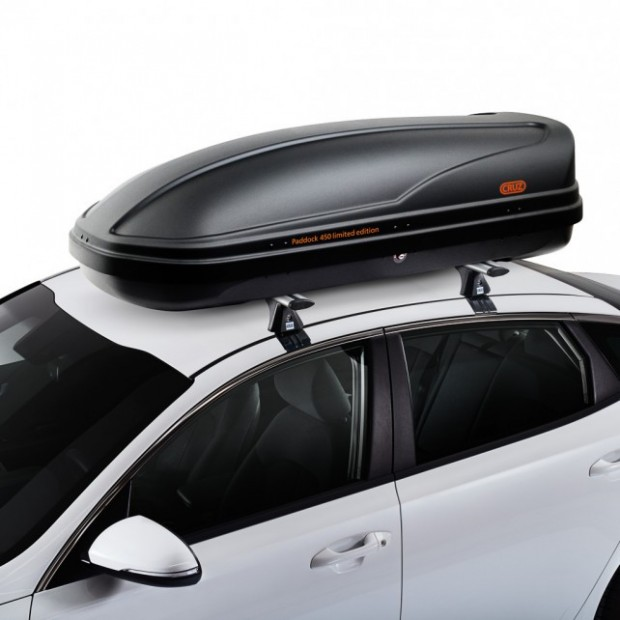 Coffer ceiling Cross Paddock 450 litres - sporty and stylish