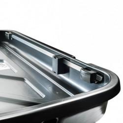 Coffer ceiling Cross Easy 320 litre black - range economic