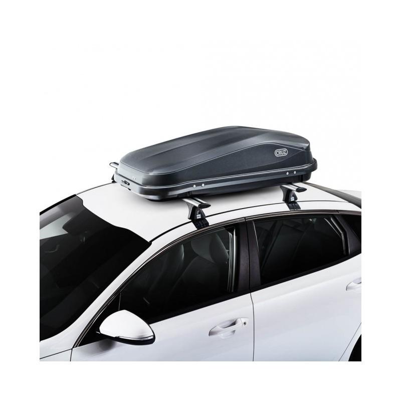 Coffre plafond de la Croix Facile 320 litres noir - gamme économique