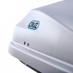 Cofre de techo Cruz Road 370 litros negro - gama aerodinámica