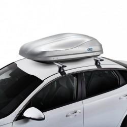 Coffre plafond de Traverser la Route 370 litres gris - gamme aérodynamique