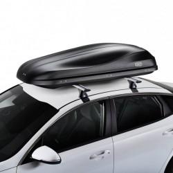 Coffre plafond de la Croix de la Route de 460 litres noir - gamme aérodynamique
