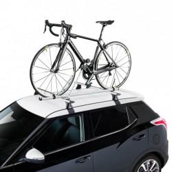 Fahrradträger für dach-auf-stahl-Kreuz Alu bike