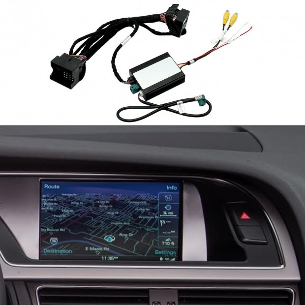 Kit interfaccia telecamera di parcheggio Audi A4 B8 (8K) (05/2009-08/2015) MMI 3G