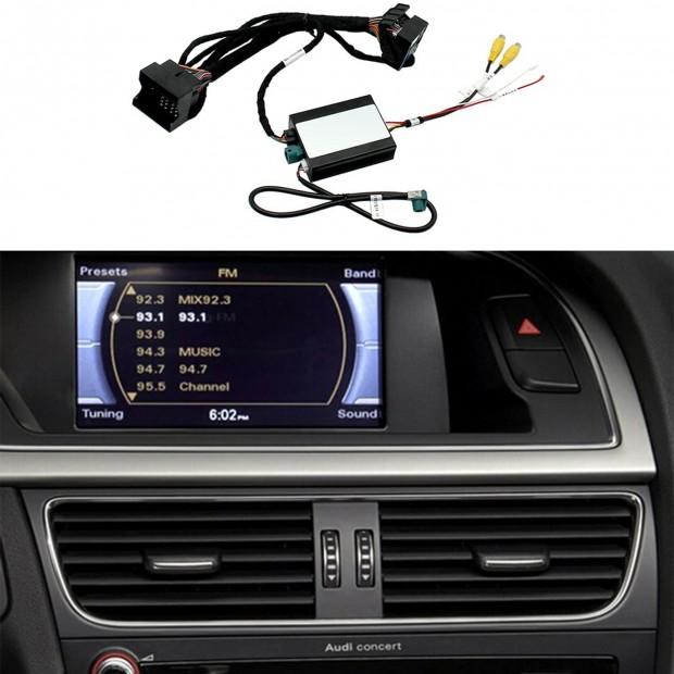 Kit d'interface de la caméra de stationnement Audi A5 (8T) (11/2008-06/2016) Concert/Symphonie AMI