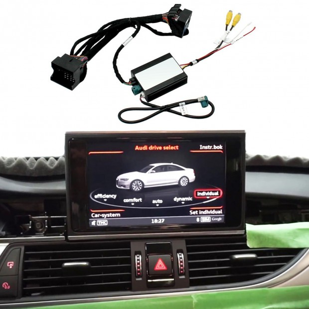 Kit d'interface de la caméra de stationnement Audi Q7 (4M) (2017), MIB/MIB2