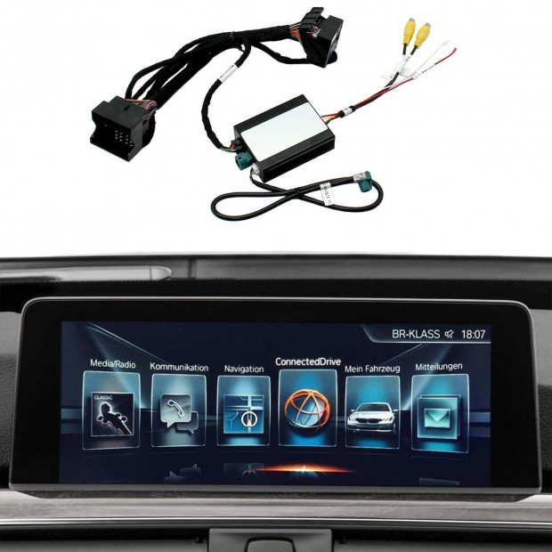 Kit interface câmera de estacionamento BMW Série 6 G32 (2018-atualidade) EVO