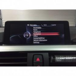 Kit d'interface de la caméra de stationnement BMW X3 F25 (2015-2017) NBT