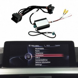 Kit interface câmera de estacionamento BMW X4 F26 (2014-2017) NBT