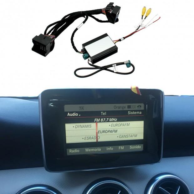 Kit interface câmera de estacionamento Mercedes-Benz CLA (C117/W117/X117) (11/2013-11/2014) na embalagem original 4.5/4.7