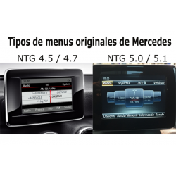 Kit, interface camera parking Mercedes-Benz A-Class (W176) (09/2015-12/2018) NTG 5/5.1