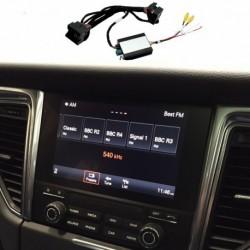 Kit interface câmera de estacionamento Porsche Cayenne (92A) (2017-atualidade) MIB/MIB2