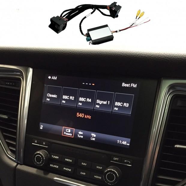Kit interface cámara aparcamiento para Porsche Macan (95B) (2016-actualidad) MIB/MIB2