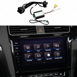 Kit, interface camera parking Skoda Rapid (2016-present), MIB/MIB2