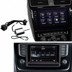 Kit interface câmera de estacionamento Volkswagen Golf 7 (2012-2019) MIB/MIB2
