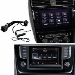 Kit interface câmera de estacionamento Volkswagen T-Roc (A11) (2018-atualidade) MIB/MIB2