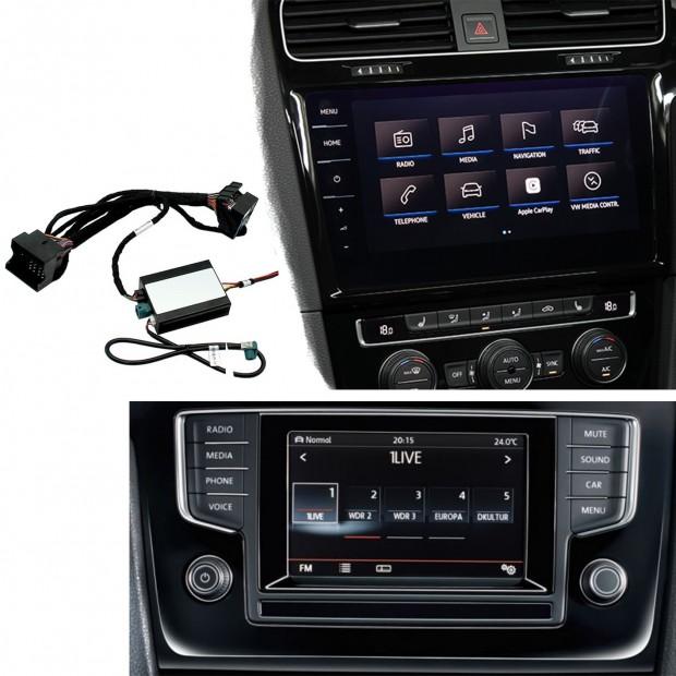 Kit, interface camera parking Volkswagen T-Roc (A11) (2018-present), MIB/MIB2