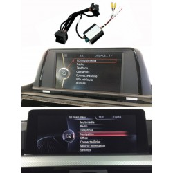 Kit interfaccia telecamera di parcheggio BMW Serie 1 F20/F21 (2011-2017) NBT