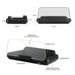 Projecteur d'affichage de PALETTE ou de téléphone mobile