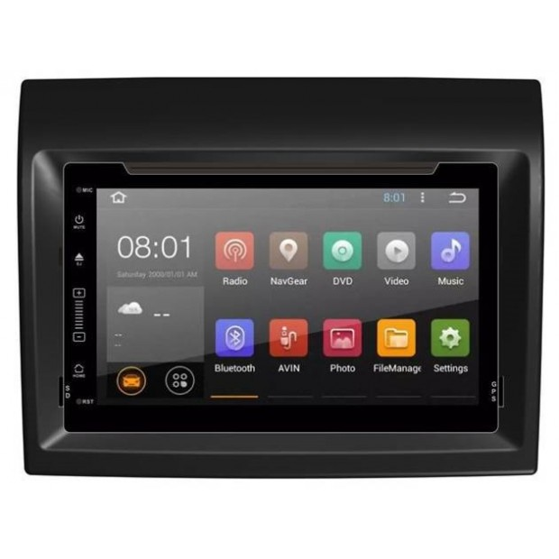 """GPS navigator touchscreen for Citroen JUMPER from 2015 - Android 7"""" 2GB+16GB"""