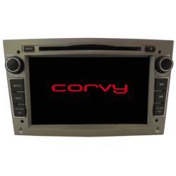 """Navegador GPS toque para Opel TIGRA desde 2004 - Wince 7"""" COM DVD (COR CINZA)"""