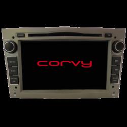 """Navegador GPS toque para Opel ZAFIRA desde 2003 a 2010 - Wince 7"""" COM DVD (COR CINZA)"""