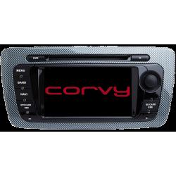"""Navegador GPS táctil para SEAT IBIZA 6J desde 2008 a 2013 - Wince 6,2"""" CON DVD"""