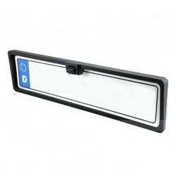 Fotocamera posteriore con portamatrículas e luci a LED integrato