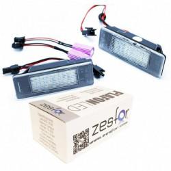 Plafones LED de matricula Nissan Qashqai J10 JJ10