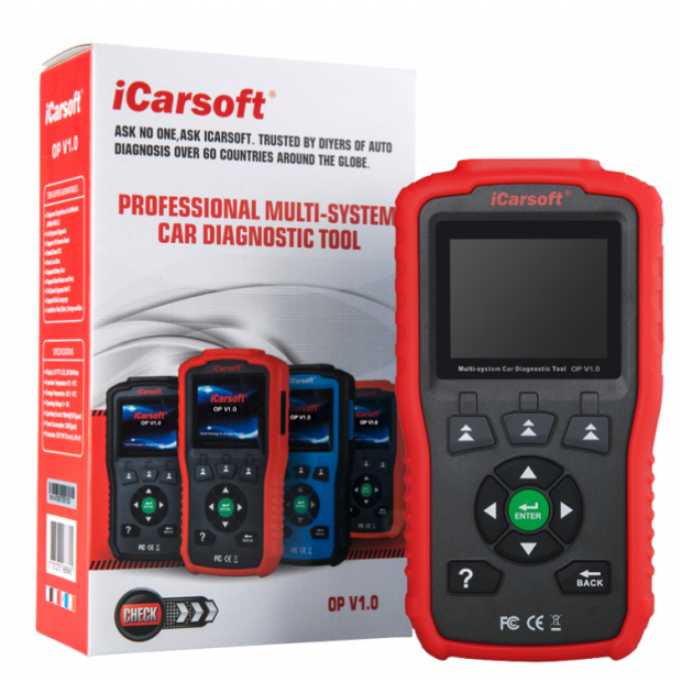 Appareil de diagnostic Opel ICARSOFT OP V1.0 - Version 2020/2021